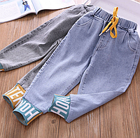 Стильні джинси шаровари для дівчаток / Стильные джинсы шаровары для девочек, джинсы детские