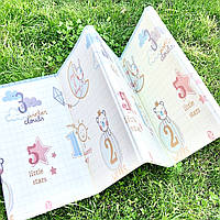 Складной коврик книжка для детей Теплый коврик для игр Термоковрик для детей