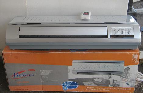 Климатическая система обогреватель - ионизатор тепловентилятор (тепловая завеса) - Gelios KPT 2000C.