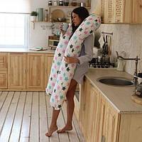 У-образная подушка для беременных без наволочки XL - 150 см Стандарт