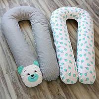 У-образная подушка для беременных без наволочки XL - 120 см Стандарт