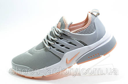 Женские кроссовки в стиле Nike Air Presto, Gray\Pink, фото 2