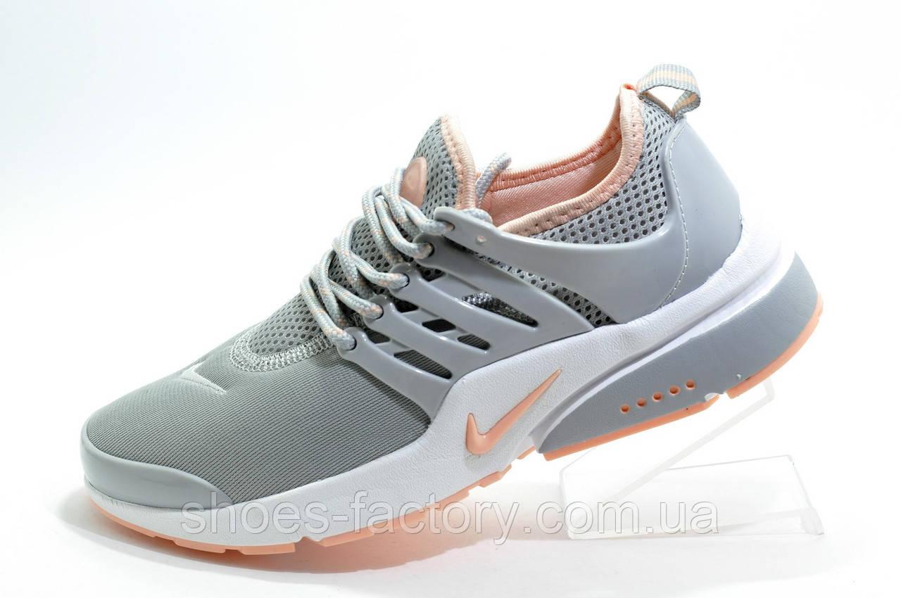 Женские кроссовки в стиле Nike Air Presto, Gray\Pink
