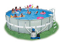Бассейн каркасный Intex  54926 Ultra Frame Pool  549х132см