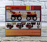 Позашляховик 1:43 Hot Wheels Monster Tracks в коробці FYJ71 Mattel, фото 3