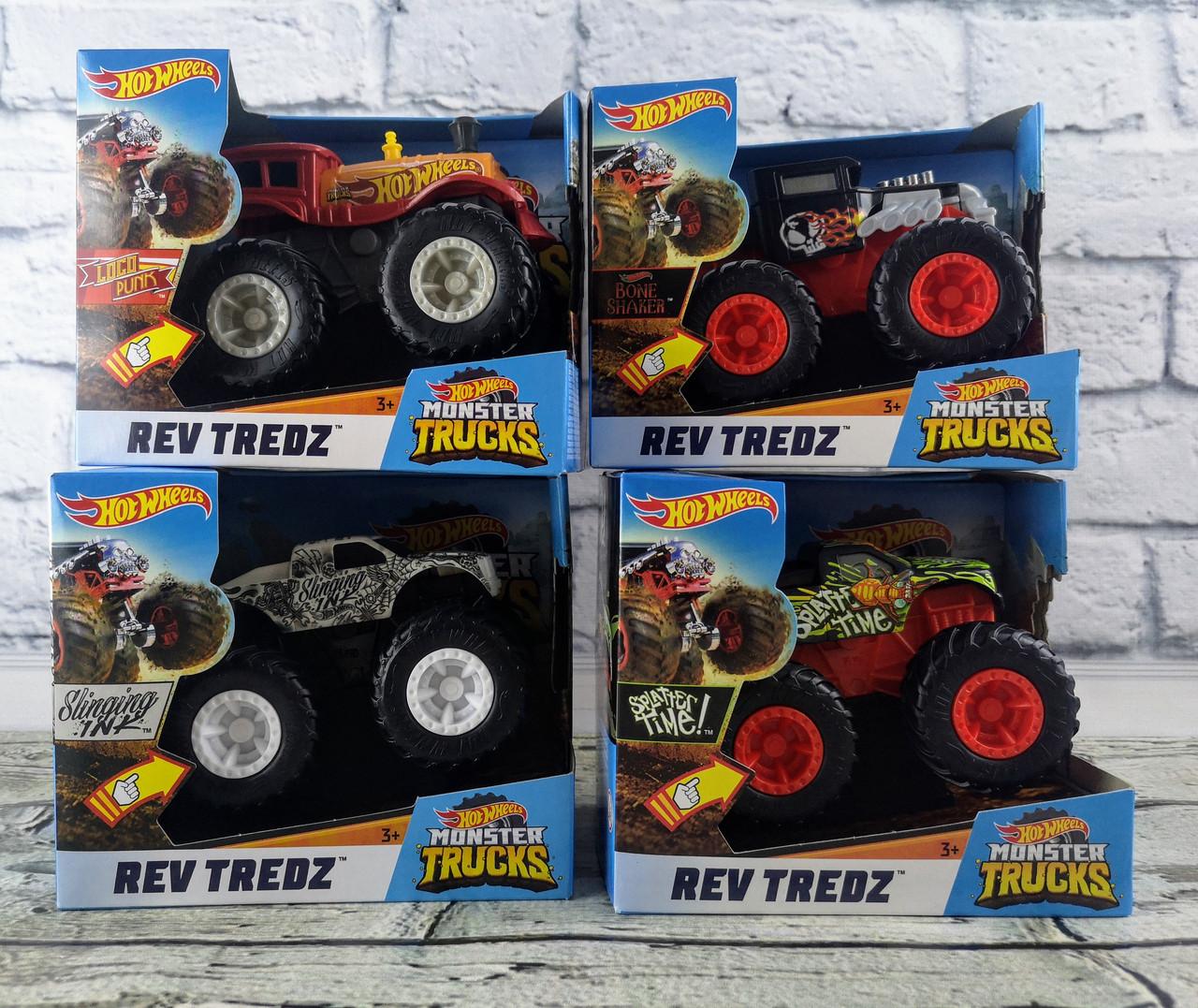 Позашляховик 1:43 Hot Wheels Monster Tracks в коробці FYJ71 Mattel