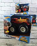 Позашляховик 1:43 Hot Wheels Monster Tracks в коробці FYJ71 Mattel, фото 2