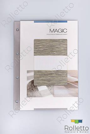 """Рулонні штори День-Ніч """"MAGIC"""" Albedo Design, фото 2"""