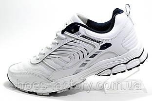 Белые кроссовки Bona 2020, Мужские (Кожаные Бона)