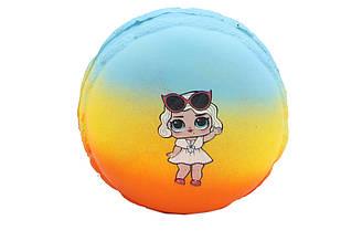 "Игрушка сквиш антистресс Squishies ""Пончик LOL"" диаметр 9 см (21218)"