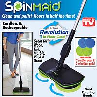 Беспроводная аккумуляторная электрическая швабра Spin Maiden