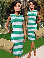 Одежда для кукол Барби - платье и сумочка, фото 1