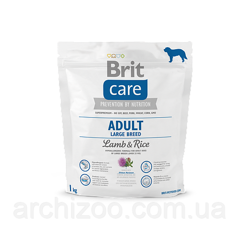 Brit Care Adult Large Breed Lamb & Rice корм для собак крупных пород, 1 кг, фото 2