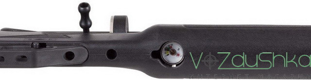 манометр на ПСП винтовке hatsan flash