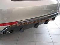 Задняя накладка (диффузор) на Skoda Octavia A5 (FL) 2009+ , фото 1