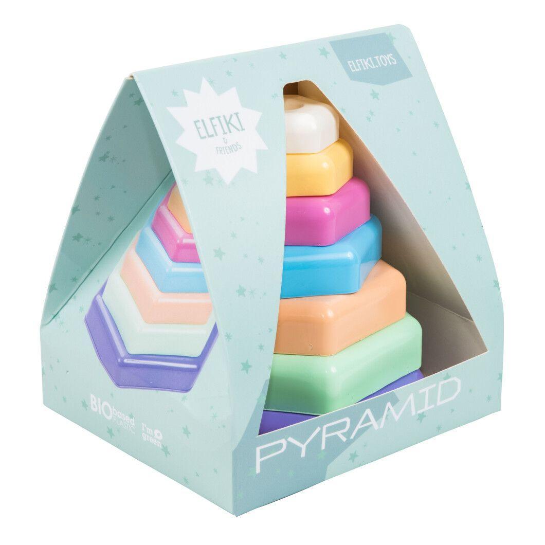 Іграшка розвиваюча Пірамідка 11 елементів