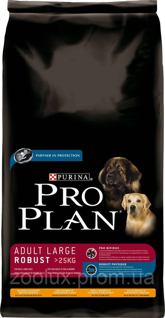 Pro Plan Adult Large Robuste с курицей 3 кг.