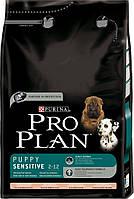 Pro Plan Puppy Sensitive для щенков склонных к аллергии 12 кг.