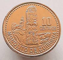 Гватемала 10 сентаво 2008