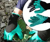 Рукавички з кігтями для саду та городу, фото 1