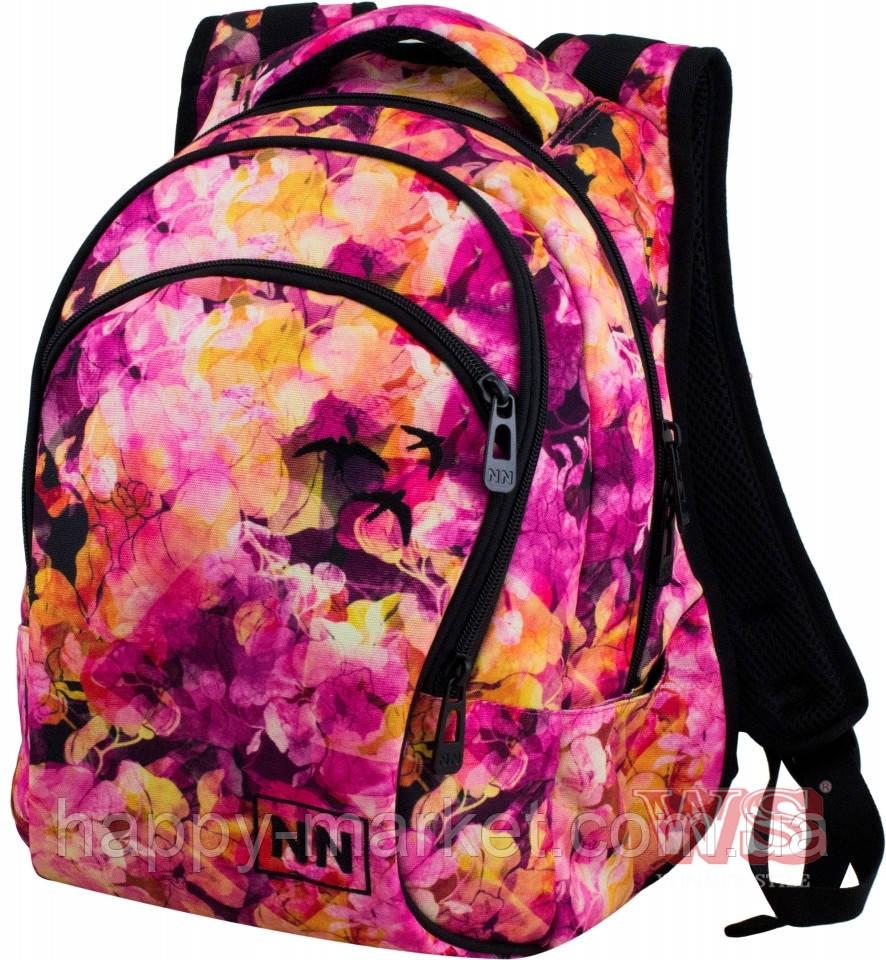 Рюкзак школьный и городской подросток для девочки Winner One Цветы 248