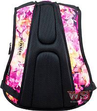 Рюкзак школьный и городской подросток для девочки Winner One Цветы 248, фото 3