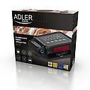 Радио, часы, будильник с проектором. Питание 220в, батарейки  Adler AD 1120, фото 5