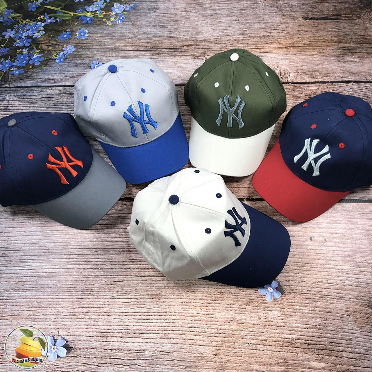 "Спортивна кепка ""NY"" для хлопчика (обсяг 54 см) (3126)"