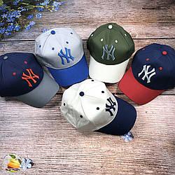 """Спортивная кепка """"NY"""" для мальчика (объём 54 см) (3126)"""