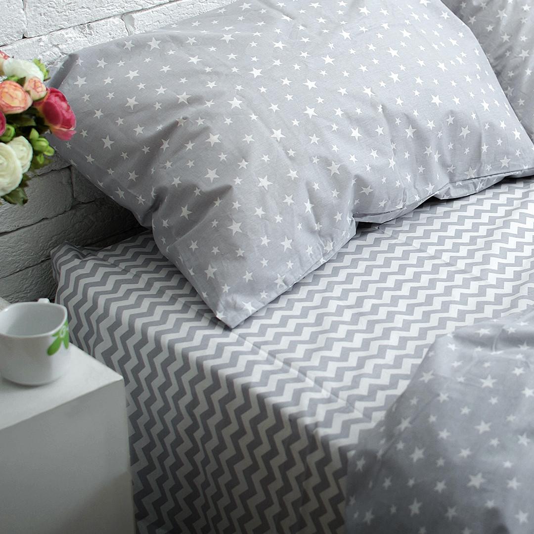 Комплект постельного белья Вдохновение Семейный Для Евро-подушки (PF028)
