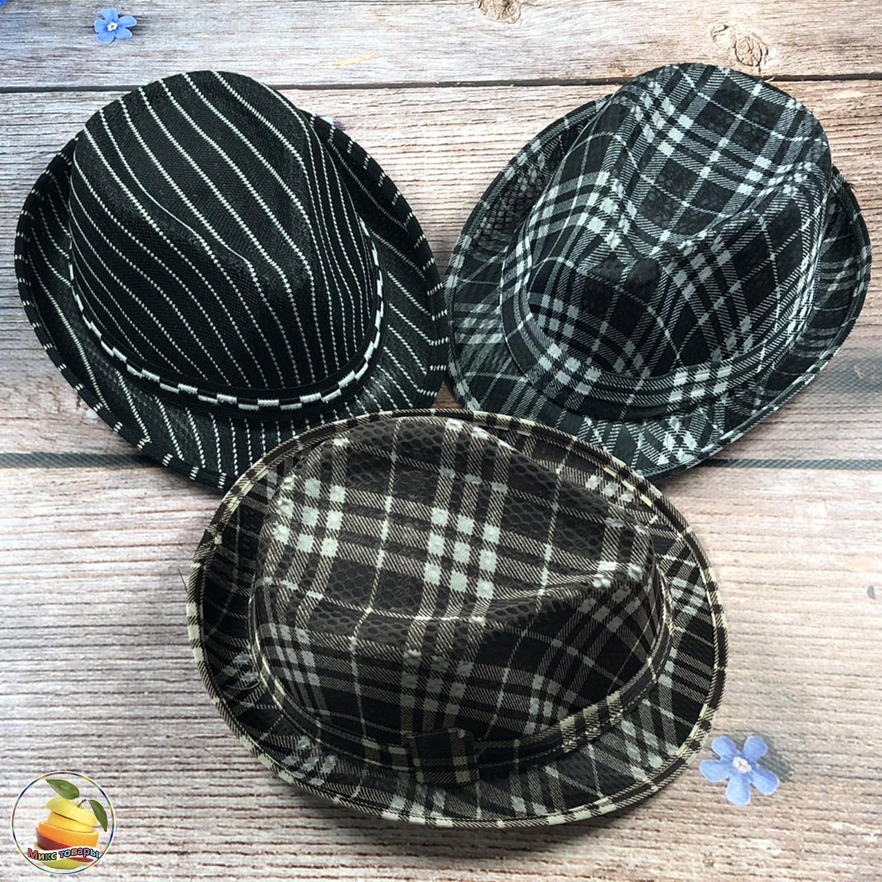 Детская шляпа для мальчика (объём 50- 52 см) (3130)