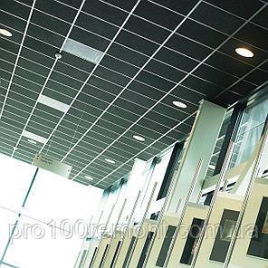 Акустическая влагостойкая черная гладкая плита Rockwool Rockfon Industrial Black, фото 2