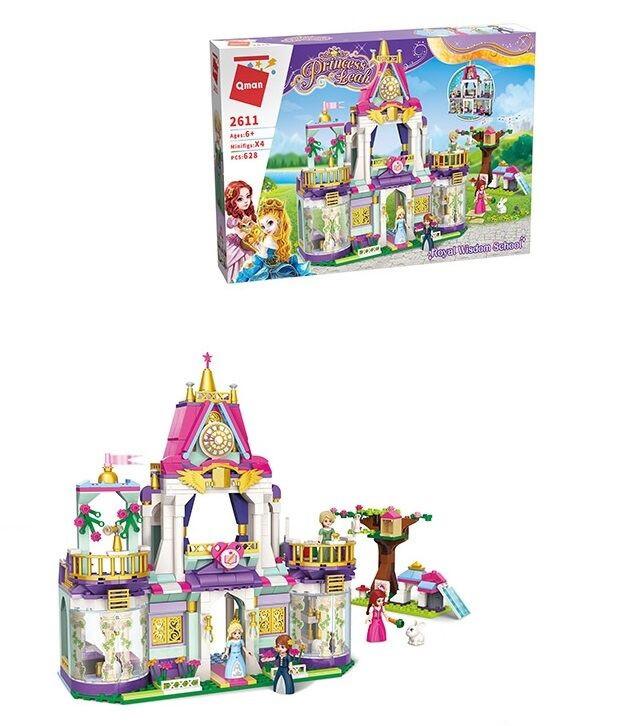 """Конструктор """"Замок принцессы"""" Brick 2611, 628 деталей"""