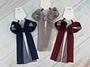Резинки для волос с большими бантами 6 шт/уп. цветные, фото 3