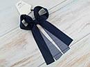 Резинки для волос с большими бантами 6 шт/уп. цветные, фото 6