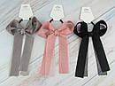Резинки для волос с большими бантами 6 шт/уп. цветные, фото 2