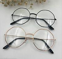 Прозрачные имидж очки (восьмиугольник) , солнцезащитные очки