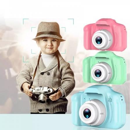 """Детский фотоаппарат """"X200 children camera"""" PR3, фото 2"""