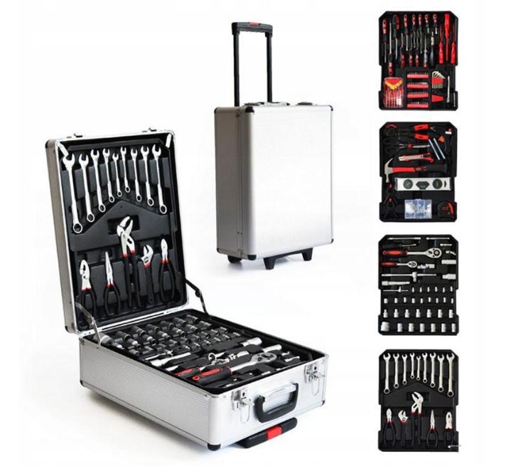 Набор инструментов 186 предметов в чемодане на колесах PR5