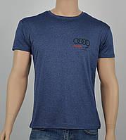 """Мужская футболка """"Вискоза"""" Audi синий"""