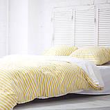 Комплект постельного белья 1.5 спальный Хлопок Люкс (PF057) Евро-подушки, фото 2