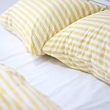 Комплект постельного белья 1.5 спальный Хлопок Люкс (PF057) Евро-подушки, фото 4
