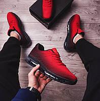 Кроссовки  красно-черные  (реплика TOP ААА+), фото 1