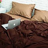 Комплект постільної білизни 2 спальний Сатин Люкс (SE010) стандартна подушка, фото 3