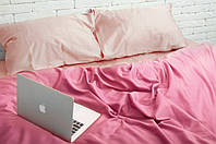 Комплект постельного белья 2 спальный Сатин Люкс (SE013) Евро-подушки, фото 1
