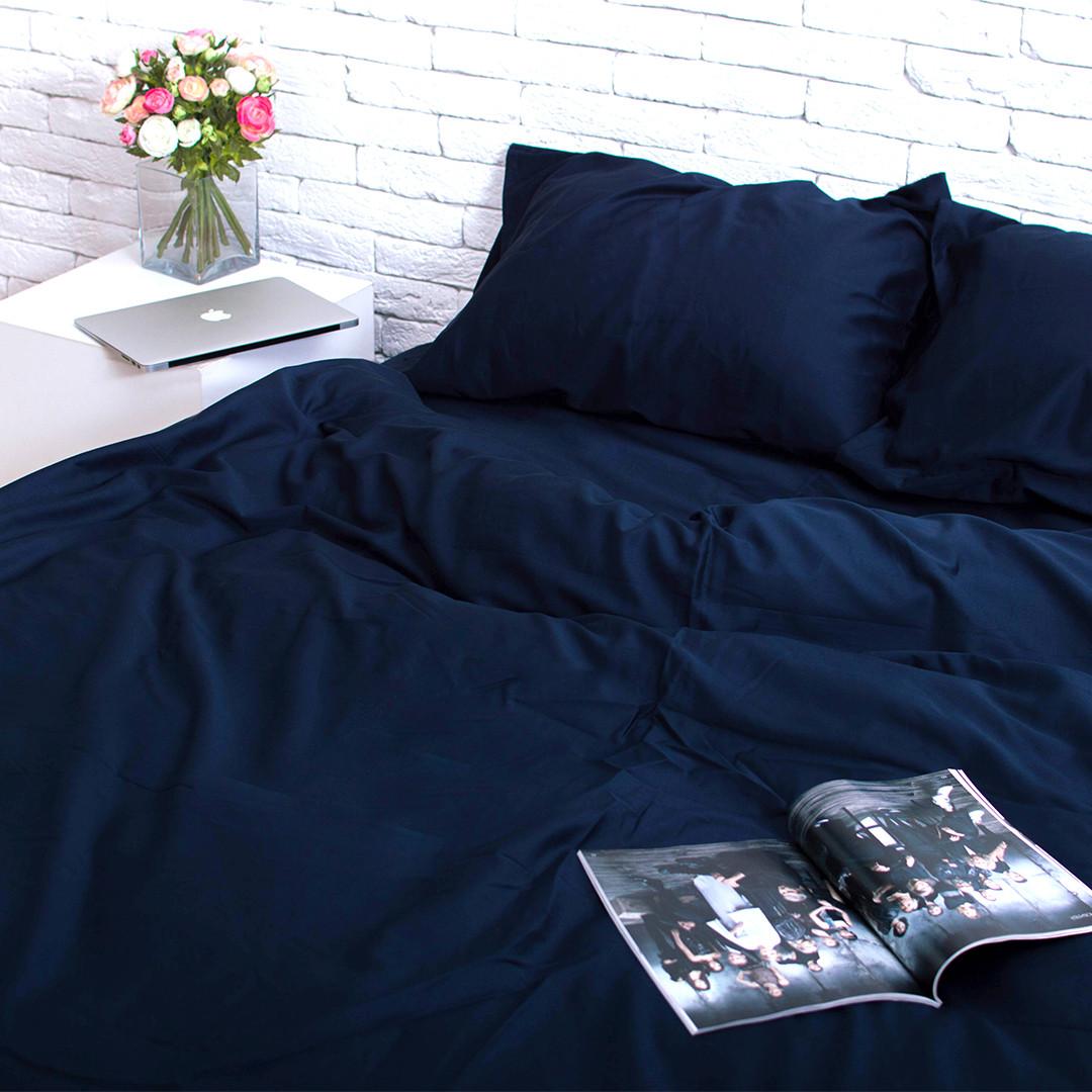 Комплект постельного белья Евро Сатин Люкс (SE001) стандартная подушка