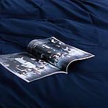 Комплект постельного белья Евро Сатин Люкс (SE001) стандартная подушка, фото 3