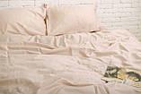 Комплект постельного белья Евро Сатин Люкс (SE012) Евро-подушки, фото 2