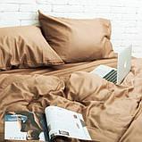Семейный комплект постельного белья Сатин Люкс (SE003) стандартная подушка, фото 2