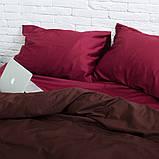 Семейный комплект постельного белья Сатин Люкс (SE008) Евро-подушки, фото 3